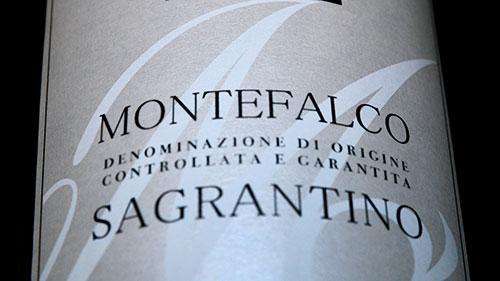 montefalco sagrantino Cantina Le Cimate