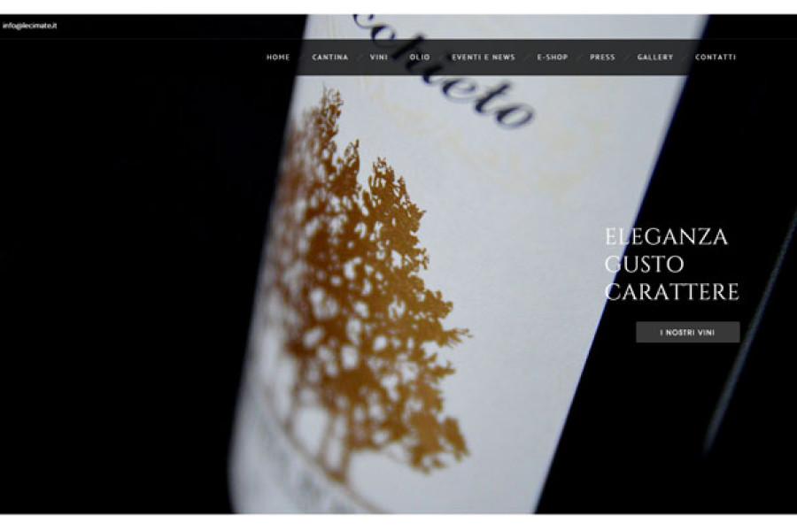 Nuovo sito web Le Cimate