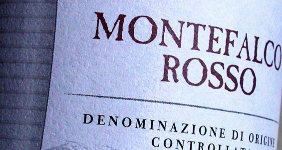 vino montefalco rosso doc - cantina le cimate